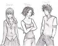 Daria, Jane, and Trent