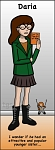 Daria bookmark