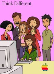 Daria wants you to 'Think Different'