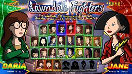 Lawndale Fighters selection screen