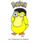 Mr. DeMartino as Psyduck from 'Pokemon'