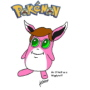 Mr. O'Neill as a Wigglytuff, from 'Pokemon'